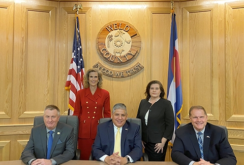 The Weld County Board of Commissioners
