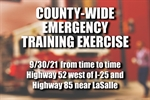 Full-scale emergency exercise to take place county-wide 9/30/21