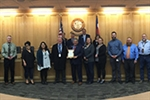 Board recognizes Public Safety Communications